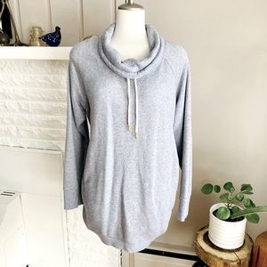 Soft & Cozy Isabel Maternity Cowl Neck Pullover